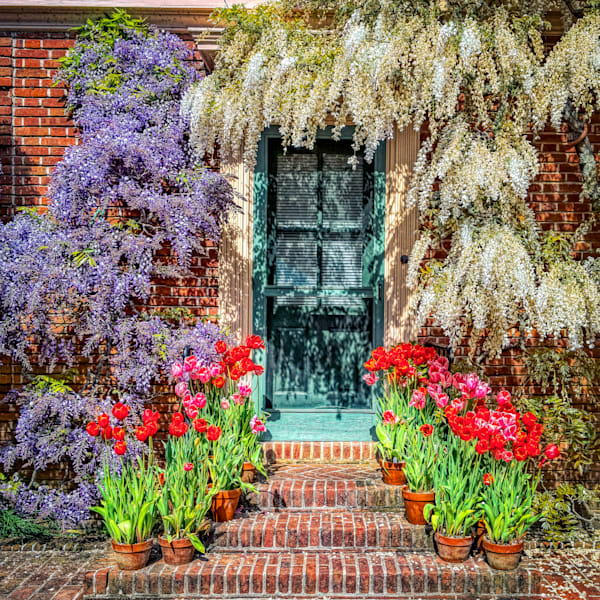 Filoli Doorway Photography Art | FocusPro Services, Inc.