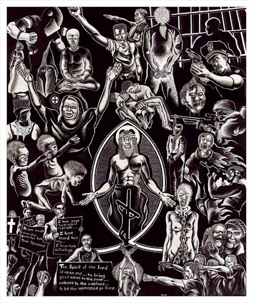 God Of The Oppressed Art | Damon Powell - Artist & Theologian