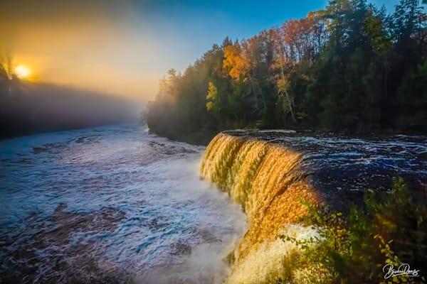 Foggy Dawn, Tahquamenon Falls Photography Art   brucedanz