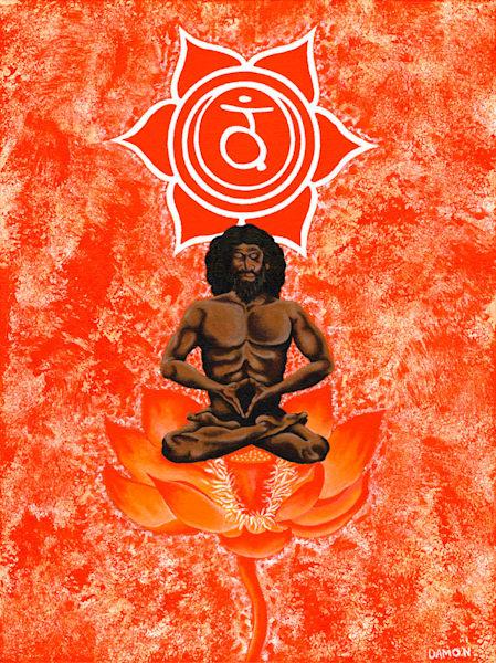 Chakra Ii   Polarity: The Balancing Of Desire Art | Damon Powell - Artist & Theologian