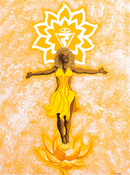 Chakra Iii   Will: The Power Of Integration Art | Damon Powell - Artist & Theologian