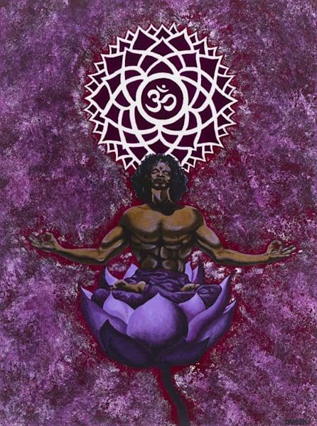 Chakra Vii   Flowering Of The Cosmic Consciousness Art | Damon Powell - Artist & Theologian