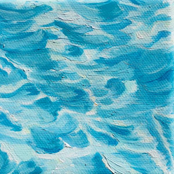 Shop Blue Water Canvas, Metal, Fine Art Paper Prints by Artist Marie Stephens Art