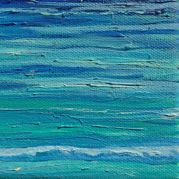 Shop Blue Wall Art Prints Inspired by the Beautiful Beaches of Cancun, Mexico by Marie Stephens Art