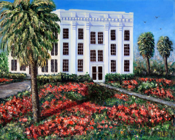 M Phillip   Kenedy Co Courthouse   Art | Branson West Art Gallery - Mary Phillip