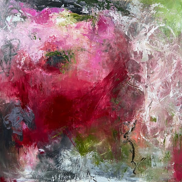 The Girl Who Cried Champagne Art | Dawn Boyer Fine Art