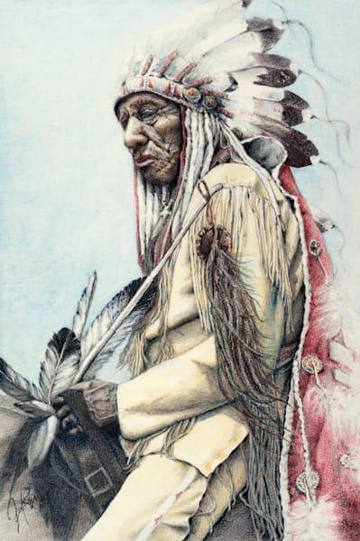A Warrior's Legacy Art | Jennifer Ray-Kellerstrass