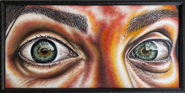 En Tus Ojos original painting