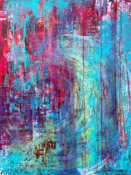 The Shells In The Wave Art   Becka Watkins Art