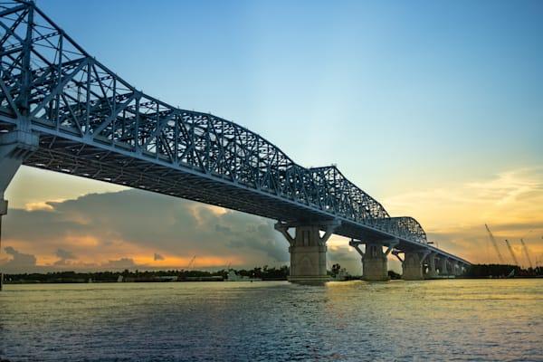 New Orleans Bridges Huey P. Long Bridge   Eugene L Brill