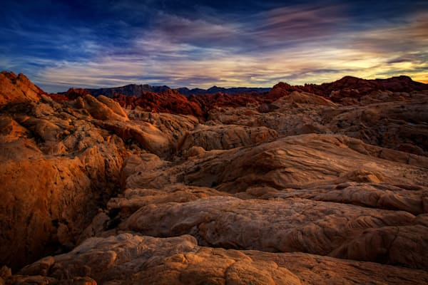 Dusk in the Valley of Fire | Shop Photography by Rick Berk