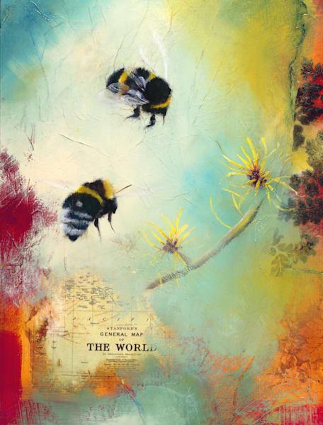 World Bee | Lisa Lamoreaux Fine Art