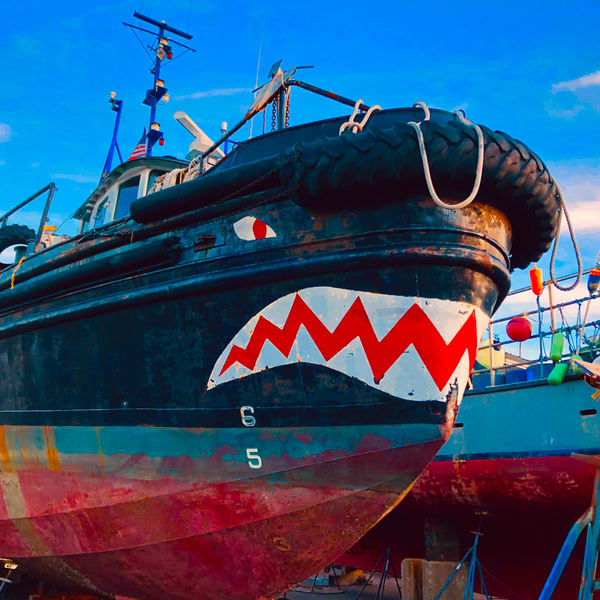Monster Boat Art | capeanngiclee