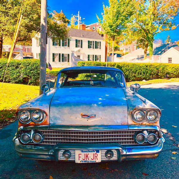 Impala '58 Art | capeanngiclee