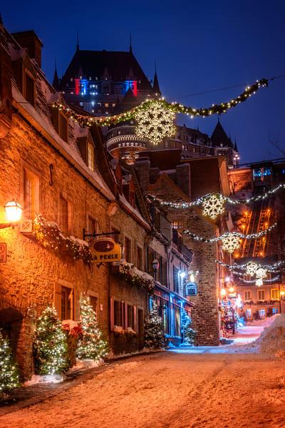 Rue Sous le Fort - Old Quebec City, Quebec