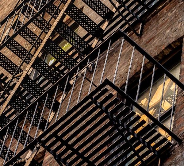 Eastside Fire Escape, Nyc Photography Art   Ben Asen Photography