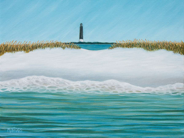 A Lighthouse View Art   Margaret Biggs Fine Art