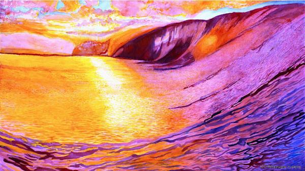 Down The Line Art | CruzArtz Fine Arts