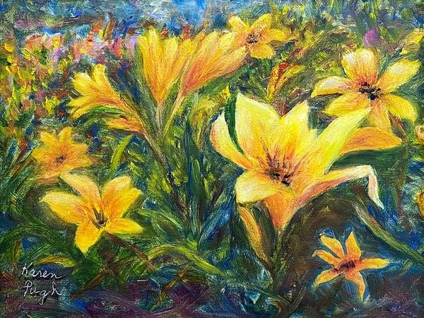 KPugh-Yellow-Lilies