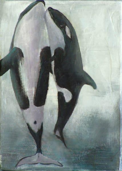 Orca I | Lisa Lamoreaux Fine Art
