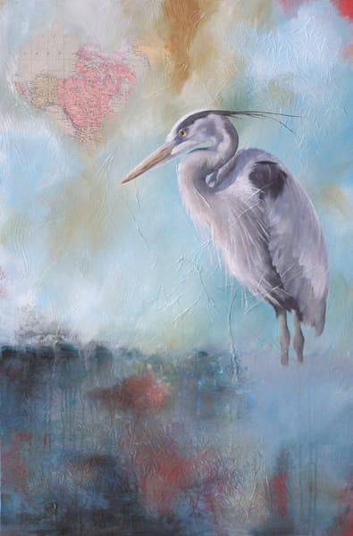 Heron Ii | Lisa Lamoreaux Fine Art