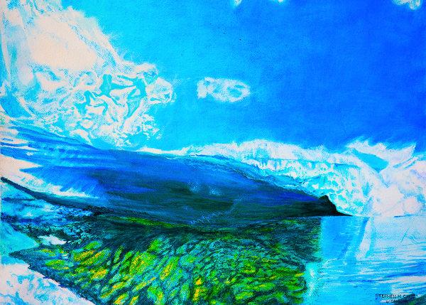Reef Break  Art | CruzArtz Fine Arts