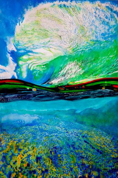 Ocean Sky Art | CruzArtz Fine Arts