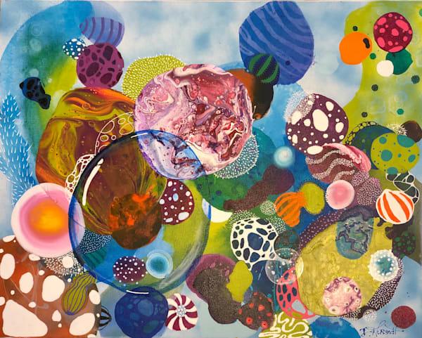 organico series ocean dee aurandt art painting