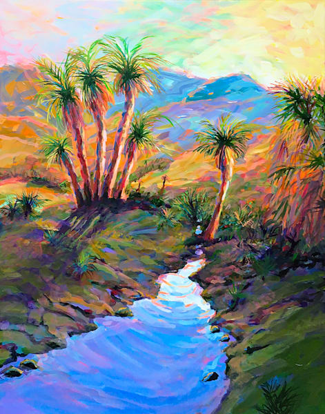 Tropical Oasis  Art | Charles Wallis