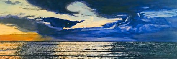 Sunset Wave In Kauai  Art | CruzArtz Fine Arts