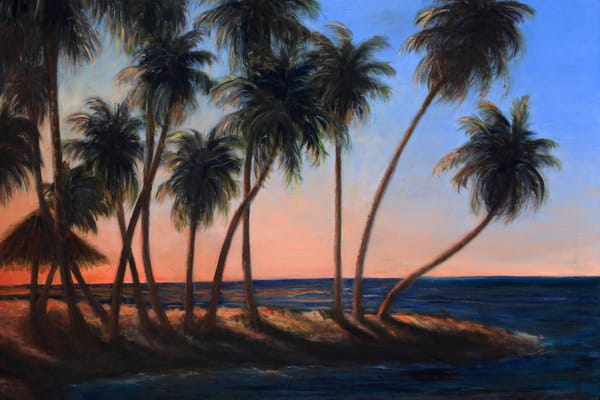 MPhillip-Sunset Palms-print