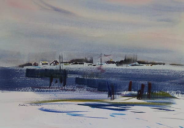 Skagit Bay Winter Art | Fountainhead Gallery