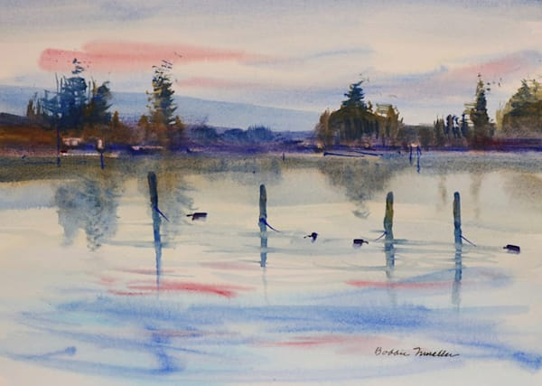 Sunup At The Lake Art | Fountainhead Gallery