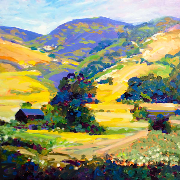 Hill Country Valley  Art | Charles Wallis