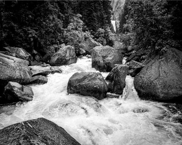 Raging Merced River Near Vernal Falls Photography Art | Robert Vielee Photography