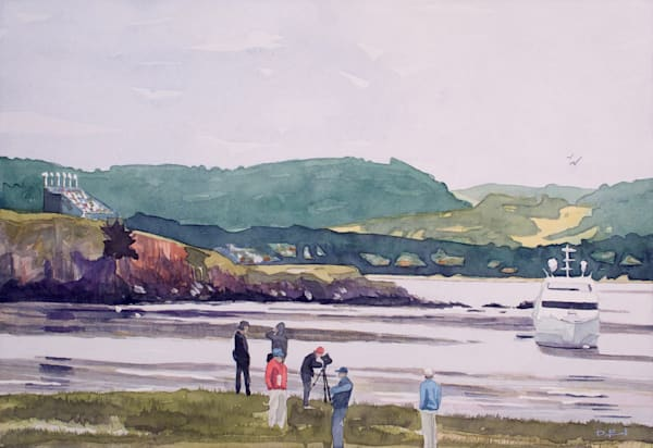 watercolor, pebble-beach, us-open, coast-art, california