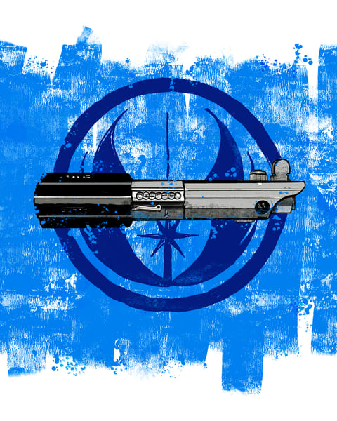 Laser Sword In Blue #1 Photography Art by johnknell
