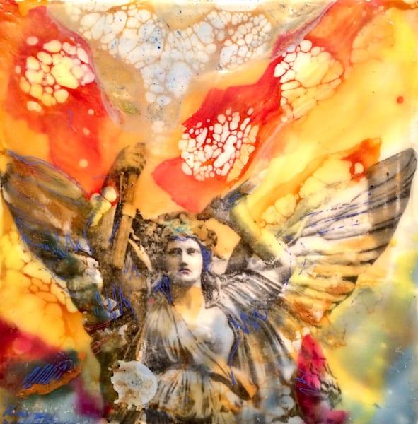 8 Painting Classes   Encaustic Wax Painting Workshops  by moniquesarkessianart