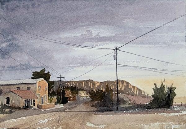 sunrise, ft-davis, texas, tx, watercolor, art, magic-hour