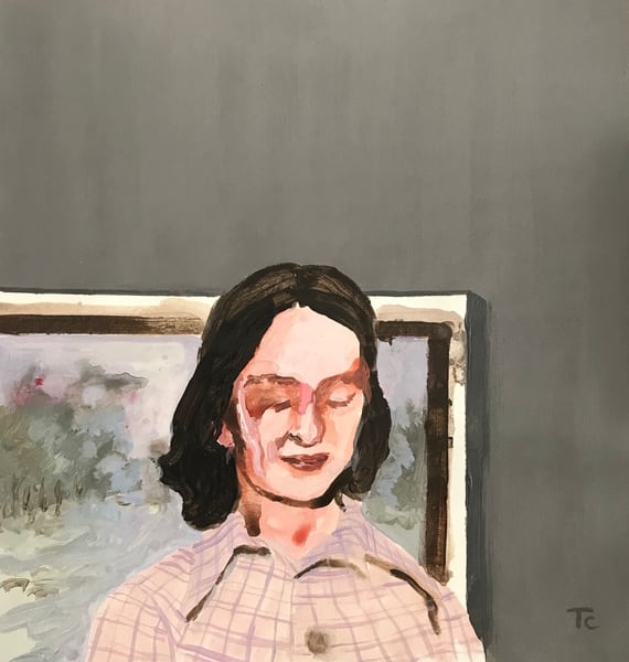 In The Landscape Of Yesterday Art | Trine Churchill