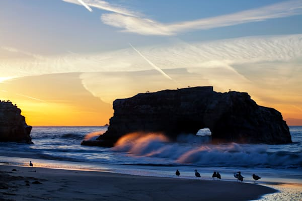 Natural Bridges Sunrise - Santa Cruz