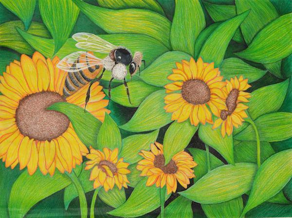 Bumble Bee Art | InspiringLee