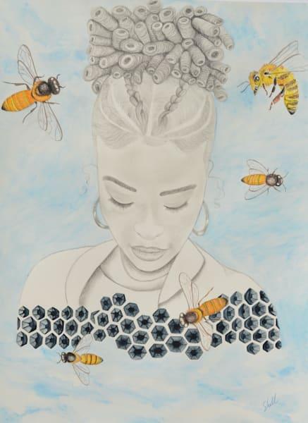 Bee Still Art   InspiringLee