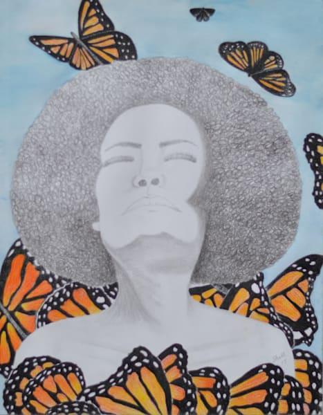 Lady Butterfly Art | InspiringLee