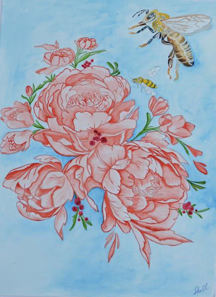 Bee Still My Heart Art | InspiringLee