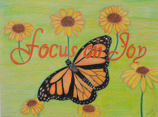 Focus On Joy Art | InspiringLee