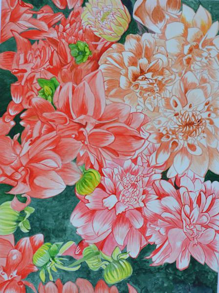Spring Has Sprung Art | InspiringLee
