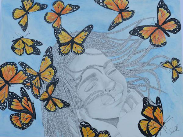 Flight Of The Monarch Art | InspiringLee