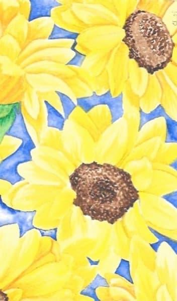 Sunflowers #2 Art | InspiringLee
