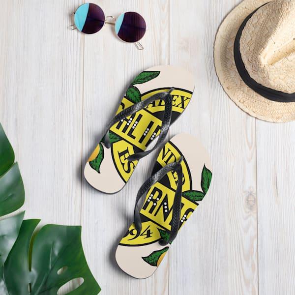Califournia Beach Flip Flops   Alex Ranniello Art